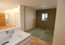 和室 LDKに面する4.5帖の和室は、お子さんのご趣味やご来客スペースとしてにご使用できます。