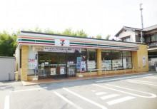 セブンイレブン岡崎於御所店 徒歩8分(568m)